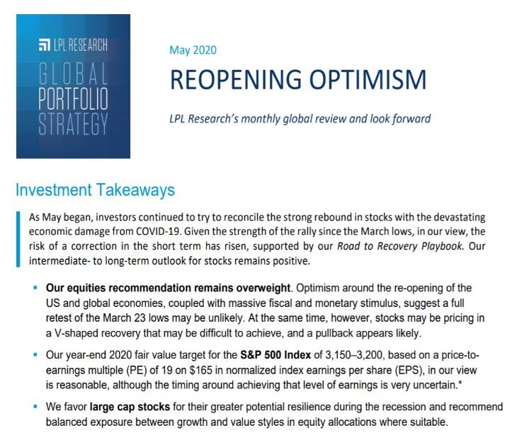 Global Portfolio Strategy | May 11, 2020